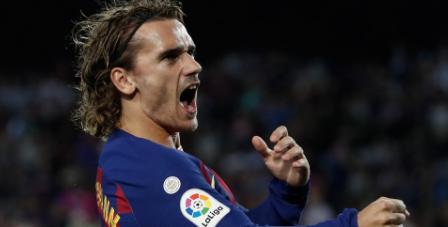 Antoine Griezmann Menolak Pindah dari Barcelona